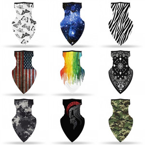 Starry Sky Face Shield Открытых Маски Дыхательных шеи Гетры Защита Магия шарфы лето Солнцезащитный женщина и мужчина-8zt E2