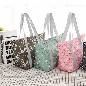 1PC New Fresh Insulation Cold Bags Thermal Oxford Foldable Lunch Bag Waterproof Convenient Leisure Bag Large Capacity Lunch Tote 1HOT#