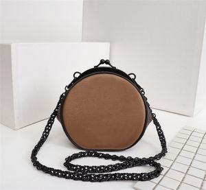 Nuevas noticias de lujo del diseñador bolsas BOURSICOT redondas carteras de clip del bolso de hombro de las mujeres de alta calidad Crossbodys bolsa redonda magia saltar caramelos