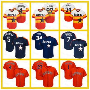 27 Jose Altuve Houston 35 Justin Verlander Astros 4 George Springer 34 Nolan Ryan 7 Craig Biggio 5 Jeff Bagwell 2 Alex Bregman Baseball Hommes