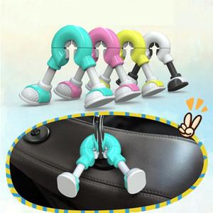Multifunction creative Car Seat Back Hooks Hanger Headrest Mount Storage Hook
