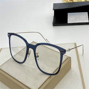 Newarrival Superlight D-PEAR02 الكبير Squarerim للجنسين النظارات الإطار بلانك fullrim + سليم غير القابل للصدأ سلك للوصفة طبية حالة fullrim 2020 الجديدة