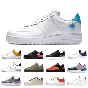 Worldwide White Blue platform 1 Low Mens Casual Shoes Sketch Pack aurora Dunks men women trainers sports sneakers chaussures