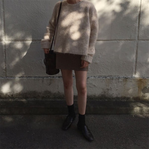 Hot Sale New Winter Sweater Women Pullover Girls Tops Knitting Vintage Long Sleeve Autumn Elegant Female Knitted Outerwear Warm Sweater