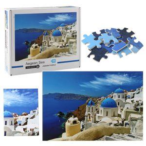 Plane Paper Decompression Puzzle Series Pieces Creative Adult Puzzles Children Of Intelligence Toys Famous 1000 Landscape Animal Puzzle Paur