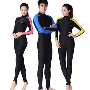Tauchen Schwimmen Overall Lycra Badeanzug Frauen Rash Guards für Männer Tauchen Wetsuit Schnorcheln