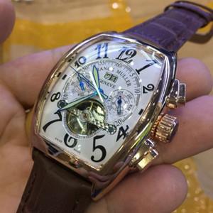 Tourbillon Montre Automatique Hommes design Top Marque Montres mécaniques Hommes Casual FRANCK haute qualité Luxe Homme Wristwatch Relogio Masculino