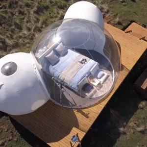 Ücretsiz Kargo Ücretsiz Fan Şişme Çadır 5 M Kabarcık Ev Kamp Çadır Açık Şişme Kabarcık Kubbe Çadır Şeffaf Kabarcık Ağacı
