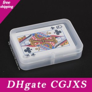 Şeffaf Oynama Kılıf (Kartlar Genişliği Küçüktür 6cm) Ambalaj Kartları Plastik Kutu Pp Depolama Kutuları Wen5065