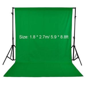 Fotografia de Estúdio tela de fundo tecido não -veludos Contexto 1 .8x2 .7m / 5 .9x8 0,8 pés preto / branco / verde para estúdio Photo Lighting