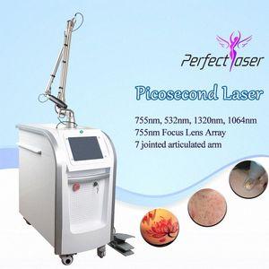 Удаление Vertical Picosecond татуировки Dark Skin Nd YAG лазер Ce Корея Pico удаления татуировки лазера машина SPA USE 6S6e #