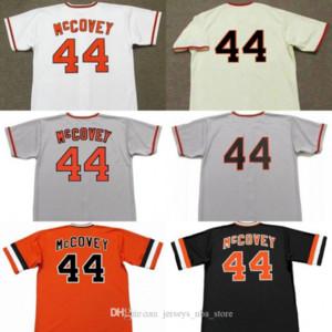 Erkekler 44 WILLIE McCovey San Francisco 19783 Beyzbol Jersey 02
