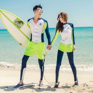 72n0F 26NYi surf buceo ropa de medusas diving Protector solar de secado rápido del traje de baño traje de Split par paño protector solar de manga larga