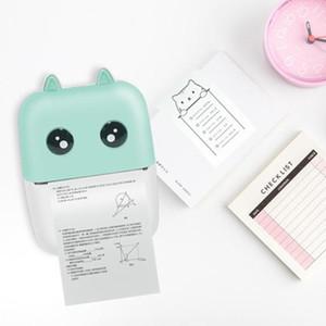 الطابعات المحمولة التسمية MINI بلوتوث الحرارية طابعة صور جيب الهاتف المحمول يده الطباعة للحصول على الروبوت