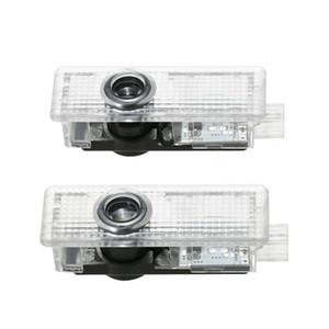 جديد 2PCS الإسقاط السيارات أهلا الباب وأدى ضوء شعار مصباح ليزر لBMW M3 E90-93 E60-64 E61 F10 F07-12 M5 buld لDC 12V