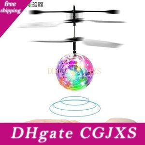 Haoxin Led magie vol balle avion hélicoptère jouet coloré scène lampe infrarouge Led induction Jouets volants pour les enfants Enfants volant Jouet