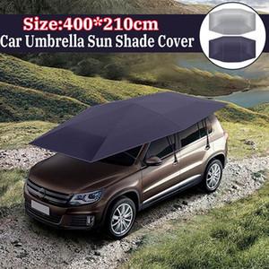 Car Parasol Shade Couverture Tente Tissu Canopy sunproof 400x210cm fenêtre ombre Pare-brise pare-soleil