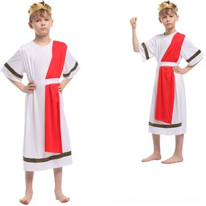 8RjiY 8vDF9 formal performance Halloween tong li tong fu li fu clothes dress children's Egyptian pharaoh Prince flower children's gown 0134co