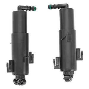 Left & Right Headlight Cleaning Washer Nozzle Pump for A4 B8 8K 2008 2009 2010 2011 8K0955101A 8K0955102A