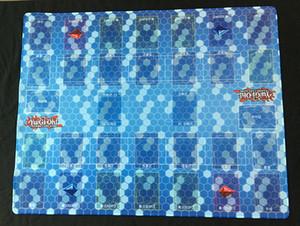DIY Yugioh Saltar Junta Playmat Juegos TCG alfombra de juego, Dark Magician encargo de la muchacha de Yu-Gi-Oh Diseño Alfombra Tabla cojín del juego libre empaqueta CX200818