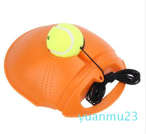 Wholesale-Heavy Duty Tennis Training Tool Exercise Tennis Ball Sport Self-study Rebound Ball With Tennis Trainer Baseboard Sparring Device