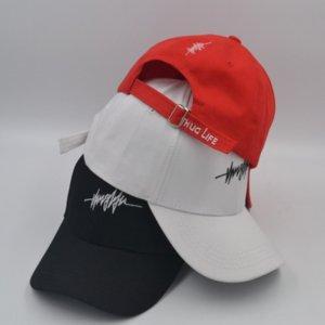 IHrQ3 Hat men's fashion personality cap capbaseball capversatile student street Thug life youth fashion baseball cap
