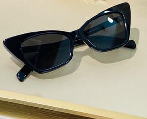 244 Sonnenbrille Art und Weise Frauen Dreieck Katzenauge Formatfüllend SL244 beliebtes Modell UV400 Objektiv-Sommer-Art Schwarz Weiß Rot Farbe mit Paket Kommen