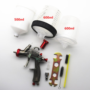 Spray gun SPRAY GUN gravity feed air PPS cup adapter, with mixing cup, no-clean water tank paint