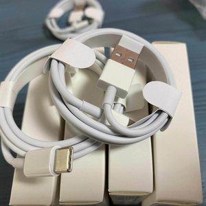 perakende paketi ile 100pcs / lot 7 kuşak Orijinal OEM kaliteli 1m 3 ft 2m 6af USB Data Sync Şarj telefon Kablo