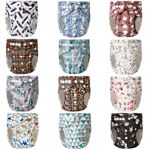 Washable Adjustable Nappy Baby Cover Wrap Reusable Cloth Diapers3