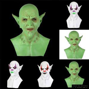 Party Cosplay Mask Latex Funny Jangle Mask Coveror PPFVG Clown Jingle Cosplay реквизит Материал экологически чистый Zombie клоун Менда