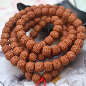 M7tFF Neujahrshandwerk tibetische Fass Perlen 108 Feinkorn mit hoher Dichte hohen Öldrachenschuppe Muster Diamond Diamond Bodhi