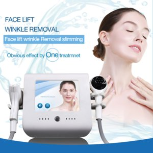 RF face lifting home spa use beauty machine vaccum suction cool hot facial treatment anti-aging wrinkle removal skincare tools