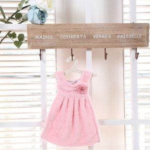 Çocuk havlu etek Prenses emici mutfak havlusu sevimli asılı prenses tuvalet küçük mendil Kore wgRRY etek kalınlaşmış