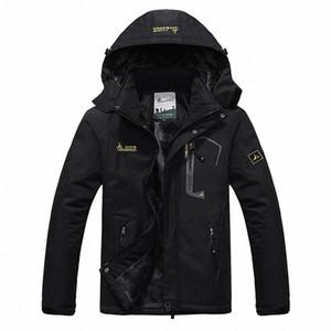 SPORTSHUB Erkekler Kış İç Polar Su geçirmez Ceket Açık Sıcak Coat Yürüyüş Kamp Trekking Kayak Erkek ceketler SAA0082 nmge #