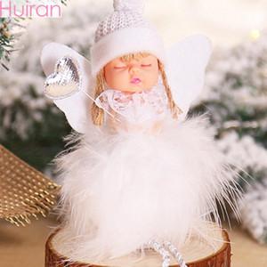 Huiran Noel Angel Noel ağacı Süsleme Noel Süsleri Home For Noel Deco Bebekler kolye Yeni Yılınız Kutlu Olsun 2020 zYbl #