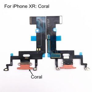 Cgjxs Usb Port de charge Chargeur Flex pour Iphone Xr avec le Conseil Mic Câble Flex Microphone ruban Pièces de rechange 50pcs