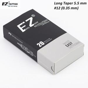 EZ Revolution cartouche aiguilles de tatouage Liner ronde aiguilles de tatouage long cône compatible avec la cartouche de machine de tatouage poignées CX200808
