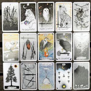 nana_home Tarot Tarot 78 El Juego Juegos Para Wild Card tarjetas de la tabla Hojas Diversión Desconocida amantes Dropshipping yxlGeZ