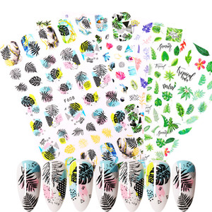 Nail Sticker Flower Leaves Slider Transfer Nail Stickers for Manicur Nail Art DIY Transfer Sticker