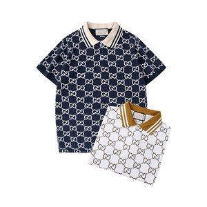 concepteur bande polo t-shirt de serpent d'abeille polos hommes floraux cheval haute couture rue polo de luxe T-shirt