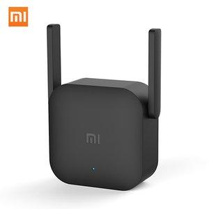 Xiaomi Wi-Fi Amplificador Pro 300Mbps 2.4G repetidor con 2 * 2 dBi Antena enchufe de pared WiFi Range Extender señal de refuerzo para Xiaomi Router