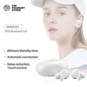 TFZ Q1 TWS sem fio fone de ouvido Bluetooth 5.0 Earbuds Touch Control Esporte Headset, CVC + DSP dual Noise Tecnologia de Redução