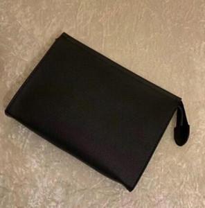 3 Farben heißen Verkaufsqualitäts Reise Kosmetiktasche 26 cm Schutz Make-up-Handtasche unisex Leder wasserdicht 19 cm weibliche Kosmetiktasche +