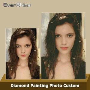 Evershine diy diamant malerei fotos benutzerdefinierte 5d diamant stickerei volle quadratische / runde mosaik machen deinen eigenen bild von strass