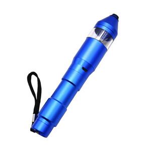 Automatic grinder Electric Herb Pen Grinder USB Charging Metal Grinders Crusher Tobacco Herb Pepper Mills Cigarettes Grinder 5 Colors