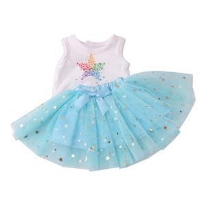 Amerikan 18 İnç Doll Giyim ve Aksesuar Dedikodu için Kız Bebek Giyim Elbise tül etek