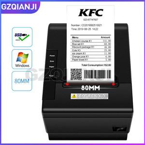 Imprimantes Imprimantes Thermal Reception Thermal Imprimante avec coupe automatique pour cuisine USB / Ethernet Port Shop Restaurant Windows Drive