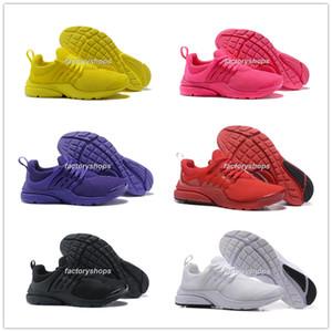 Новый 2018 Prestos 5 Беговые Обувь Мужчины Женщины Presto Желтое Розовое Орео Открытый Мода Безвозмездная Спортивные кроссовки Размер США 5.5-12