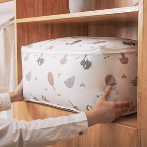 colcha de almacenamiento PEVA PEVA bei zi ropa dai de clasificación bolsa se mueve la bolsa de embalaje artefacto edredón de la ropa del hogar de almacenamiento